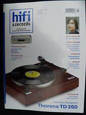 Hi Fi & Records 1/06 soulution 710,mbl 9007, ayre K 5xe, V 5xe, TEAC Esoteric x 03