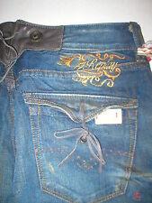 New NWT Womens 28 Designer Replay Jeans Julicks Boyfit Boyfriend Leather Distres