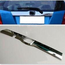 Chrome rear trunk molding trim cover For Honda FIT JAZZ 2009-2012