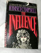 THE INFLUENCE by RAMSEY CAMPBELL 1988 HC/DJ