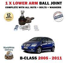 FO MERCEDES B150 B160 B170 B180 B200 2005-2011 1 X BALL JOINT FOR WISHBONE ARM