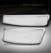 09-11 CHEVY AVEO5 HATCHBACK MAIN UPPER+BUMPER STAINLESS STEEL MESH GRILLE CHROME