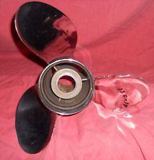 "Cabelas Turbo 1 13 1/4 x 23 Stainless Steel Propeller for All 4 1/4"" (136-17)"