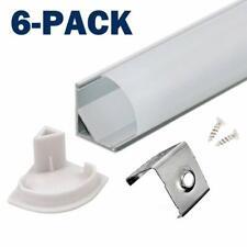 Profil LED 45° - 6x100cm LED Aluminium Profil für LED-Streifen/Leisten