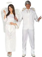 Ladies Angel Costume Adults Christmas Nativity Fancy Dress Womens Xmas Outfit