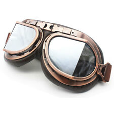 Retro Vintage goggle Aviator Pilot Motorcycle Cruiser Scooter Biker Goggles