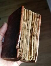 Antique Ethiopian Coptic Christian Manuscript Hand Written Ge'ez Vellum Bible