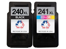 Canon PG-240XL & CL-241XL 1B/1C Remanufactured Ink Cartridges Shows Ink Levels