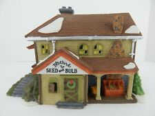 Dept 56 New England Village Bluebird Seed and Bulb #56421 Never Displayed