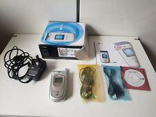 LG U8120 - Silver (Three) Mobile Phone.  With box ( BOX belong to U890 )