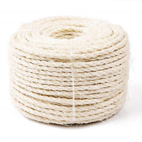 Replacement Sisal Rope for CAT SCRATCHING POST Claw Care Toy Repair Pet Cord Fix