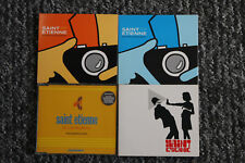 SAINT ETIENNE 4 x single cd collection