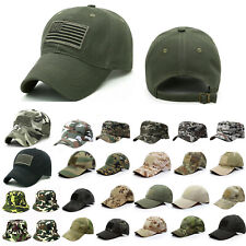 Men Baseball Cap Tactical Army Military Camouflage Adjustable Travel Sports Hat