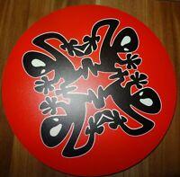PLASTIKMAN PLUS 8 RECORDS MOUSEPAD black/red