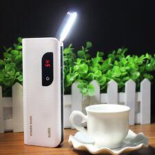 Tragbare 50000mah Macht Bank 3 USB LED LCD Ladegerät Für Samsung Smart Phone MI