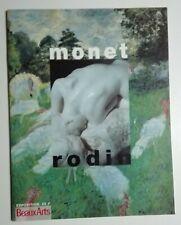 Monet - Rodin. Centenario de la exposición de 1889. Programa original de 1989