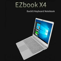Jumper EZbook X4 laptop win10 Thin and Light Laptop 14 inch FHD PC 6GB Ram 500GB