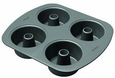 Wilton 2105-3801 Nonstick 4-Cavity Mini Angel Food Cake Pan, New, Free Shipping