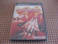 PS2 ACE COMBAT ZERO THE BELKAN WAR NAMCO NTSC JAP PLAYSTATION 2 SONY NEW SEALED