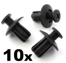 10x Mazda Wheel Arch Trim Clips- For inner wing & wheel arch linings B45556143