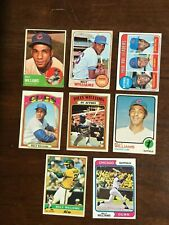 Topps Billy Williams Baseball Card Lot (8)