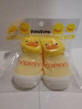 Piyo Piyo Duck Ducky New Born Baby Socks - Yellow