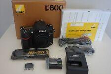 ~ Used Nikon D600 24.3MP Digital SLR DSLR Camera - Black (Body Only)