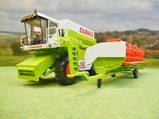WIKING CLAAS COMMANDOR 116CS COMBINE HARVESTER GRAIN HEADER & TRAILER 1/32 7834