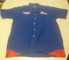 Suzuki Racing MotoGp Team Shirt Mens Pit Shirt Size M