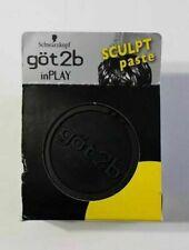 NEW Got2b InPlay Sculpt Paste - 2 oz