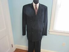 Corneliani Double Breasted Suit - Navy Blue - 44R - Gorgeous - Ships Free!