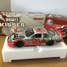 Signed Kevin Harvick #21 Special Edition Hershey's Kisses 1/24 Diecast W COA