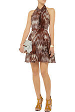 ELIZABETH AND JAMES ��Molly�� Printed Halter Flare Dress Size 6 NWT $425