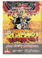BIG AUDIO DYNAMITE C'Mon Every Beatbox UK magazine ADVERT / Poster 11x8 inches