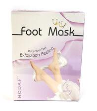 Fußmaske, Fuß- Socke zur Hornhautentfernung, Hornhautentferner, 2 Paar