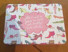 Hallmark Shoebox Blank Notecard Set Women's Shoes Theme