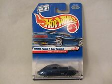 HOT WHEELS 1999 First Editions  '38 Phantom Corsair  Blue 1:64 scale  NOC (1016)