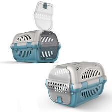 Large Cat Carrier Puppy Portable Pet Transporter Cage Box Vet Safe Travel Crate