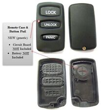 Replacement case buttons - Keyless remote key fob E4EG8D-522M-A remote keyfob