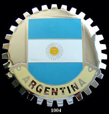 CAR GRILLE EMBLEM BADGES - ARGENTINA (FLAG)