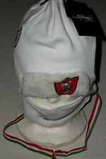Ed Hardy Snow hat cap Ski Board winter face mask Italy Italian Flag Eagle Xmas
