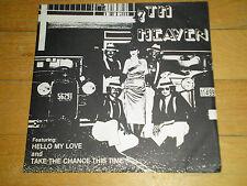 7th Heaven - Hello My Love NM 45 private press disco/modern soul (Maine)