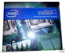 Intel S5000XVNSASR Workstation Board LGA771 SSI EEB FBDIMM, New Retail Box