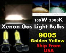 High Quality Xenon Gas Filled Light Bulb -100w Golden Yellow 9005 High Beam-B