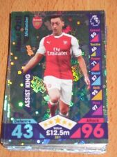 Serial Numbered Arsenal Single Football Trading Cards