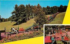 Mt Cranmore Ski Mobile North Conway NH Postcard ski lift