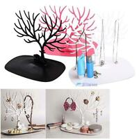 Jewelry Necklace Earring Tree Stand Display Organizer Holder Show Rack MT