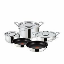 NEW Jamie Oliver Premium Stainless Steel 5pc Cookware Set (RRP $900)