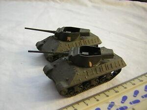 2 X Roco DBGM WW2 American Military M36 Jackson Tanks Scale 1:87