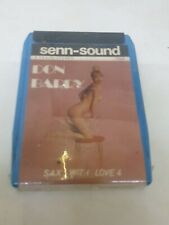 DON BARRY STEREO 8 SAX WITH LOVE VOL. 4  NEW SEALES RARE